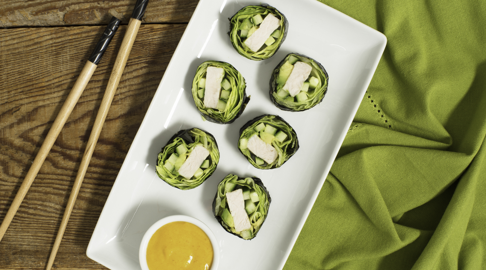 Healthy Turkey Sushi