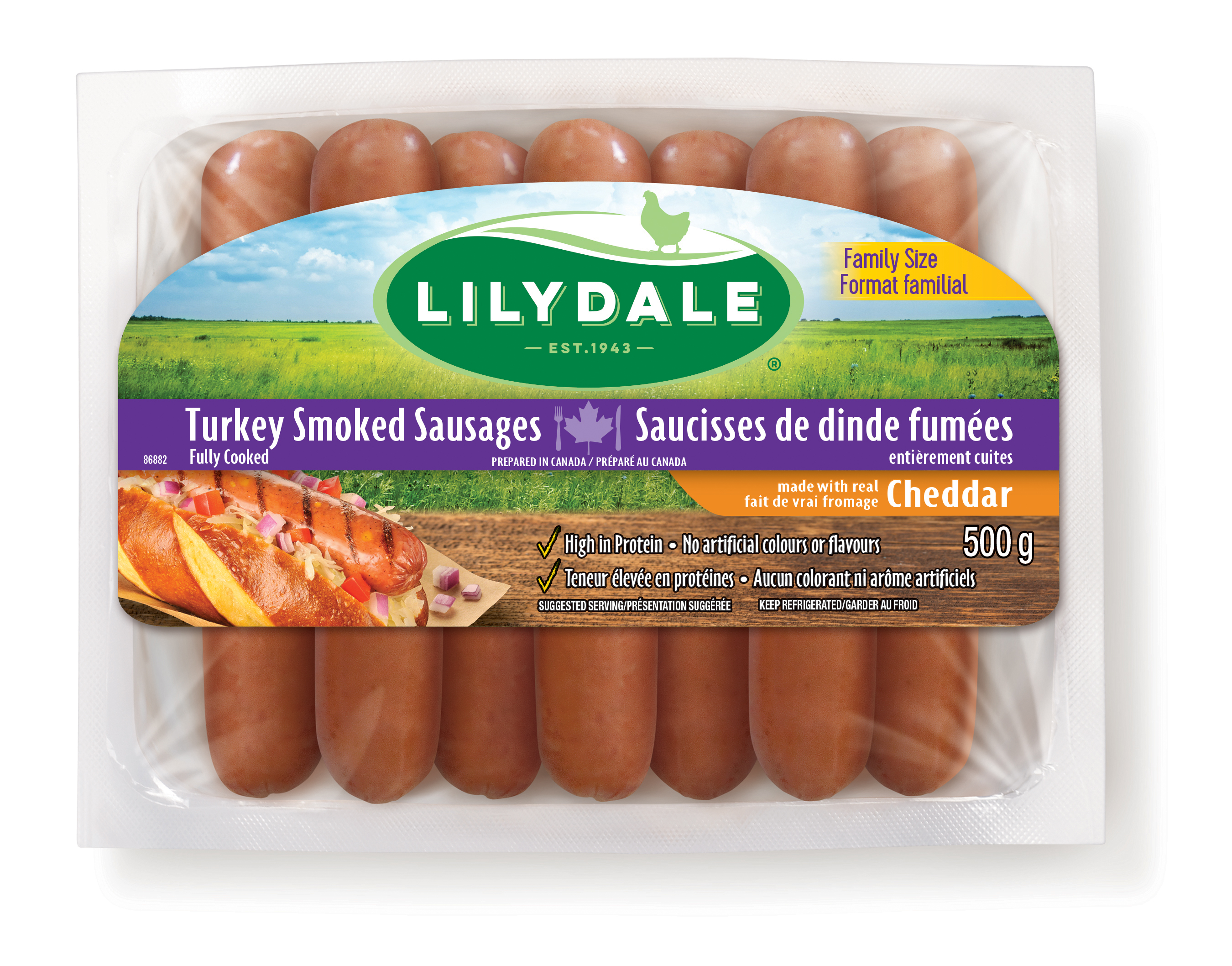 Cheddar Smoked Sausages