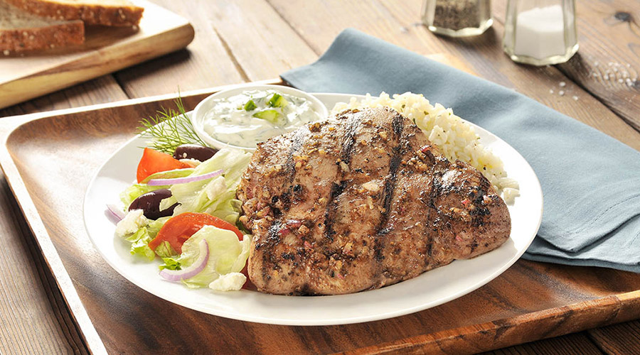 Mediterranean-Style Grilled Turkey Thighs