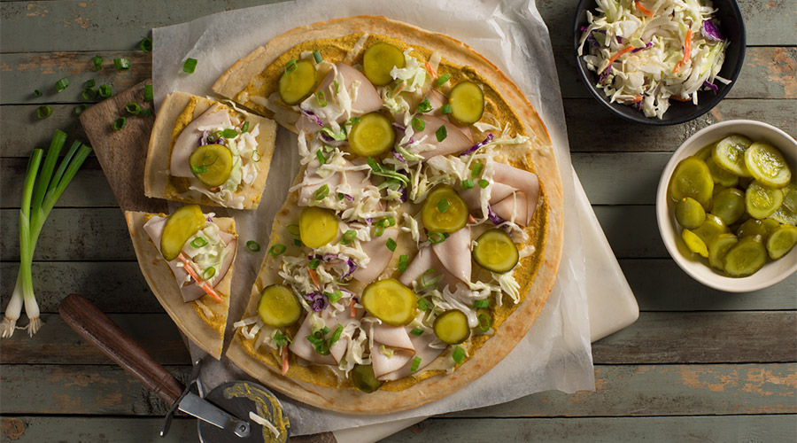 Turkey Cuban Flatbread