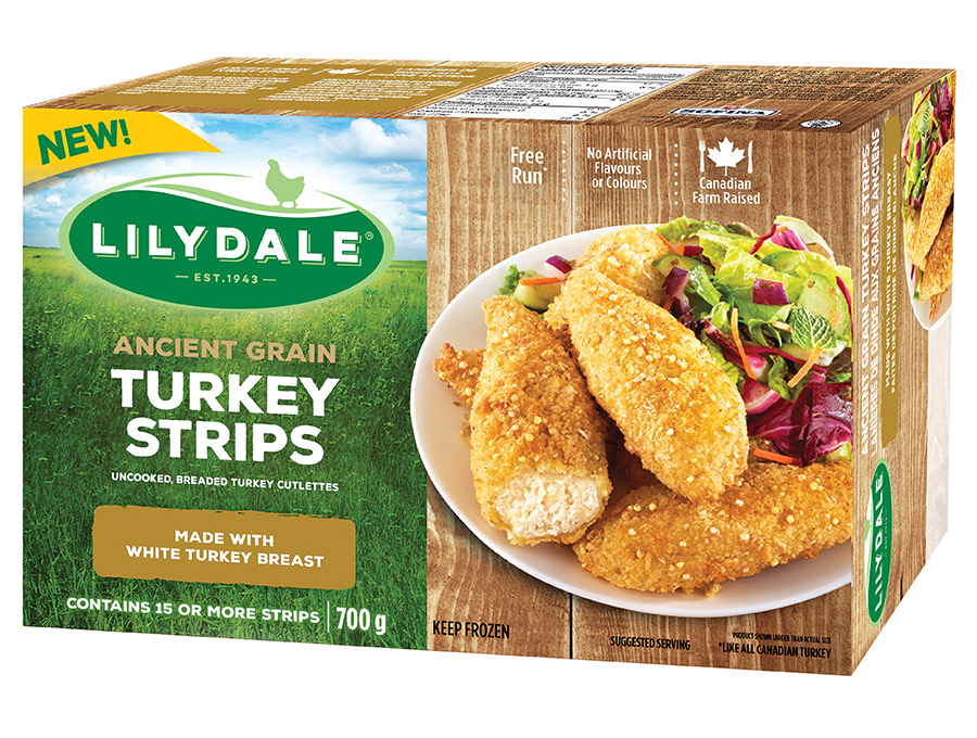 Ancient Grain Turkey Strips