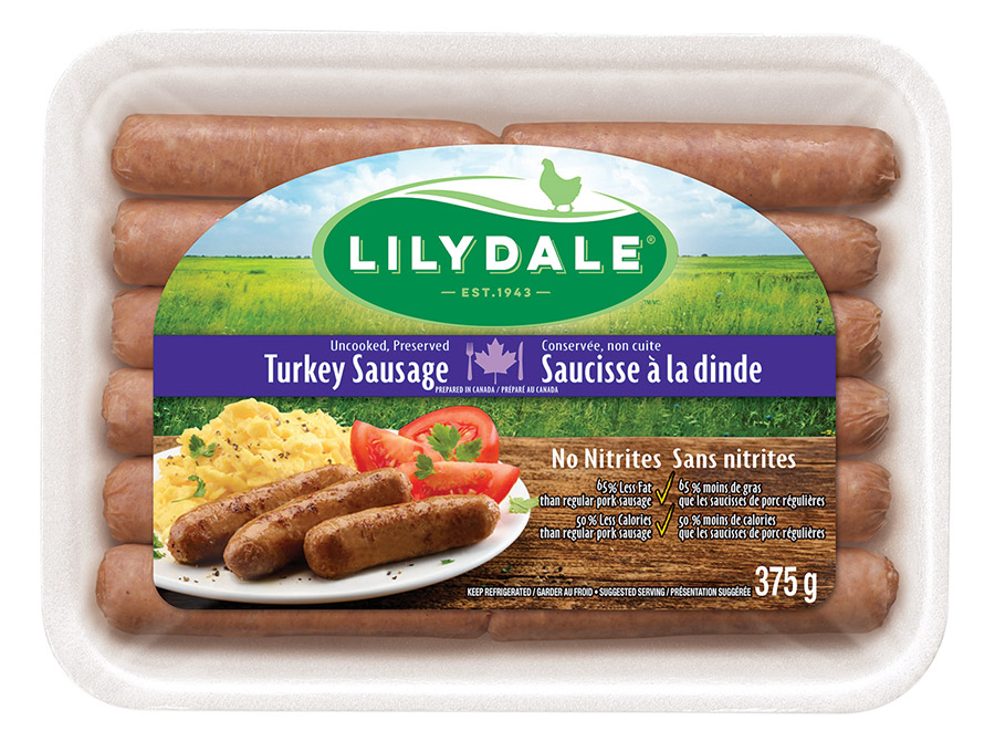 Breakfast Turkey Sausages