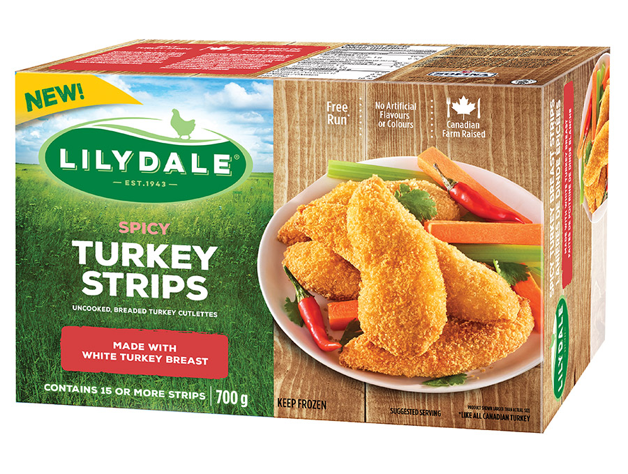 Spicy Turkey Strips