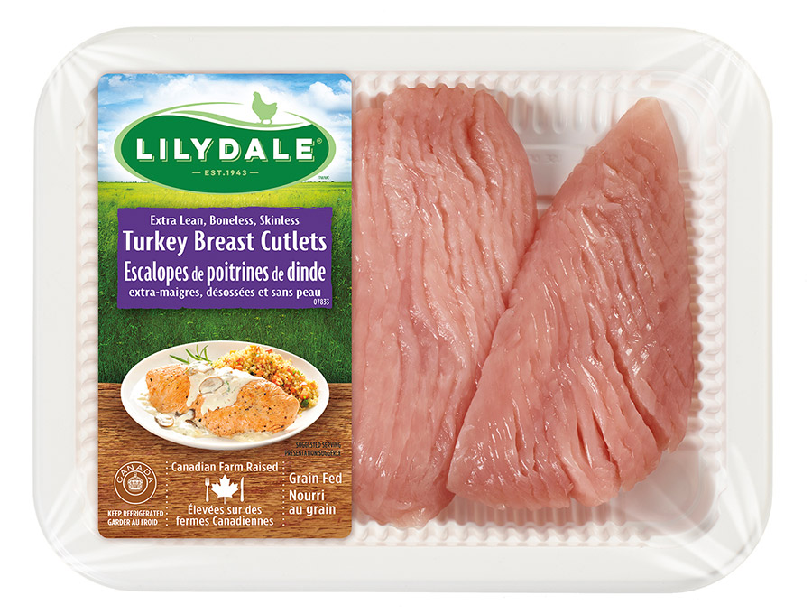 Turkey Breast Cutlets