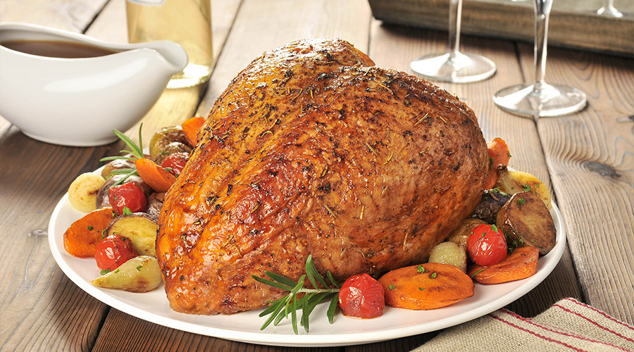 Butter and Herb Turkey Breast Roast