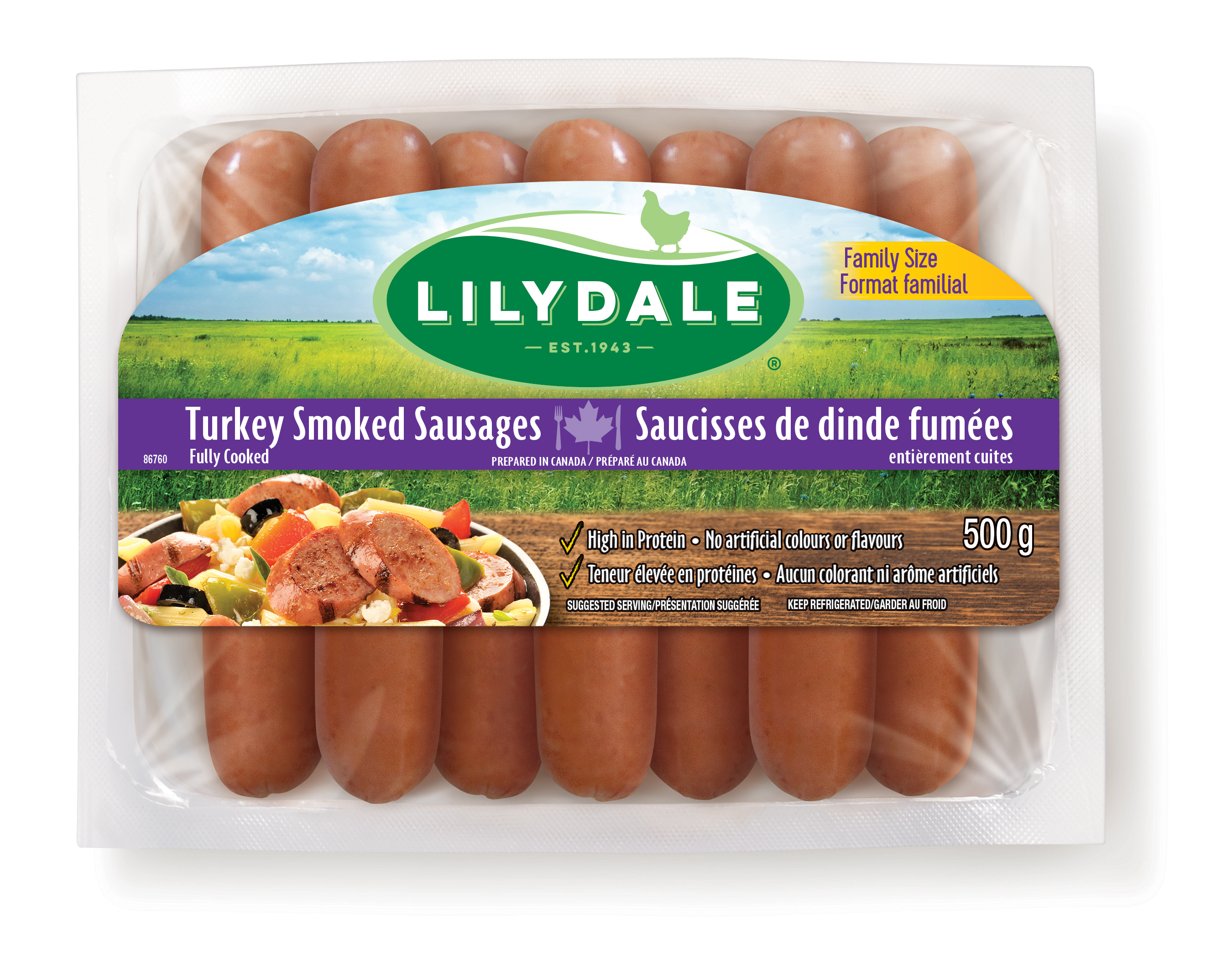 Turkey Smoked Sausages