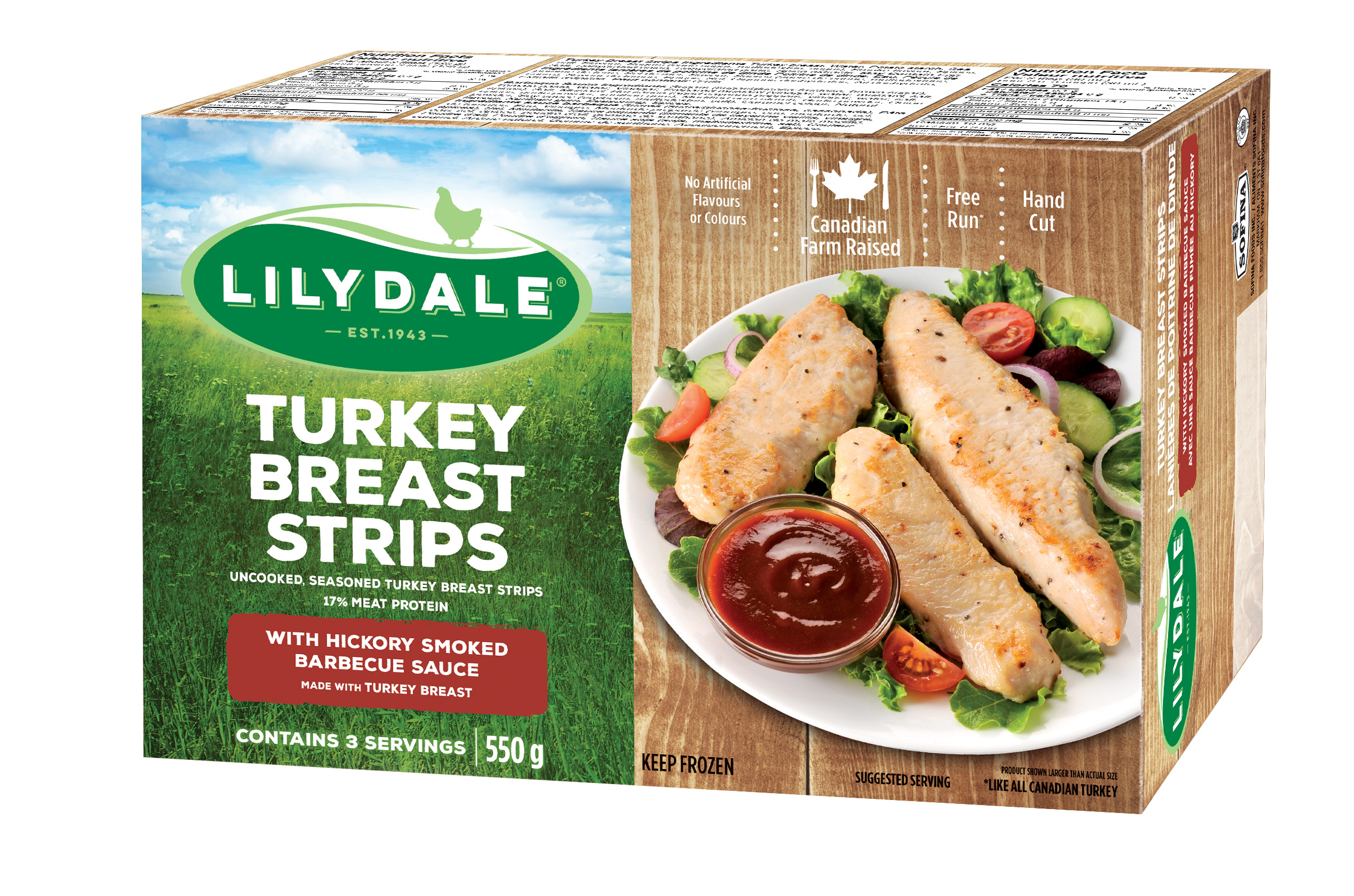 Turkey Breast Strips