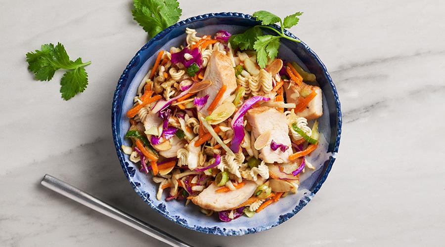Chicken Asian Ramen Chopped Salad