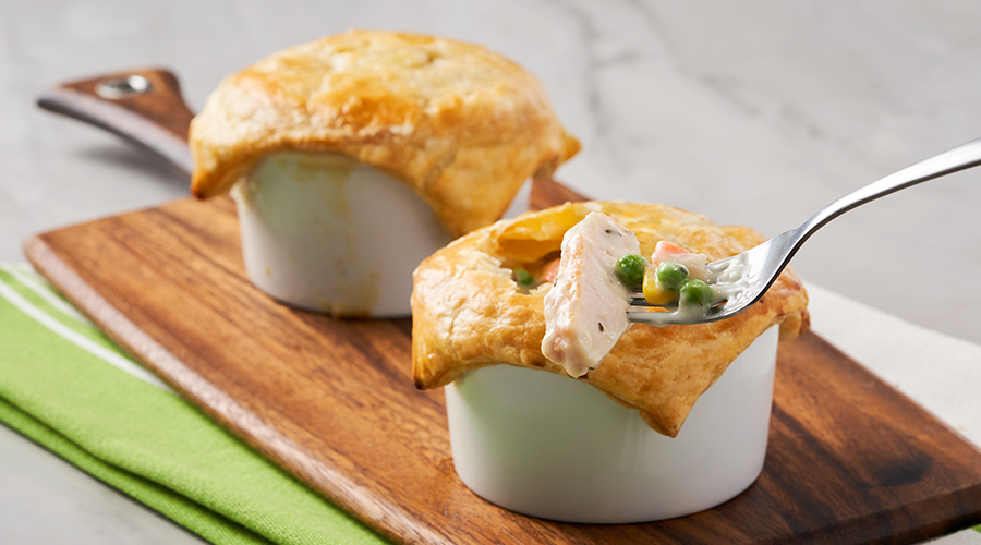 Turkey Individual Pot Pie