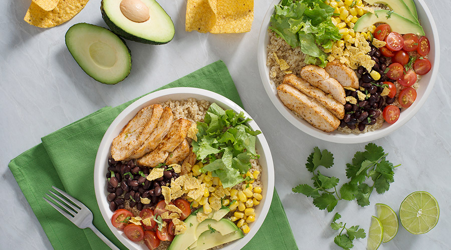 Turkey Quinoa Burrito Bowl