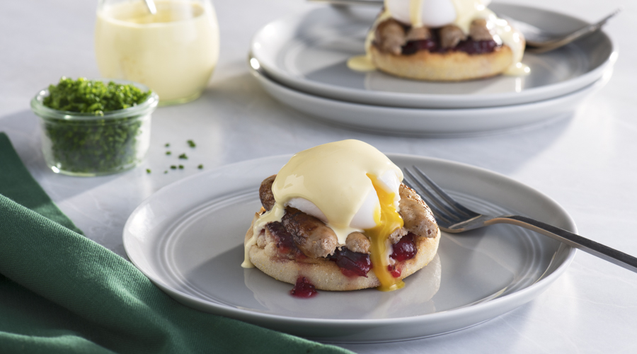 Turkey Eggs Benny