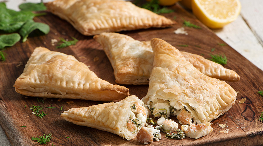 Turkey and Spinach Hand Pies