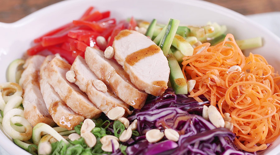 Ultimate Thai Turkey Salad